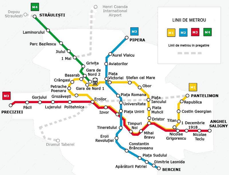 metrou bucuresti harta Harta Metrou Bucuresti   Metrorex program, pret abonamente metrou bucuresti harta